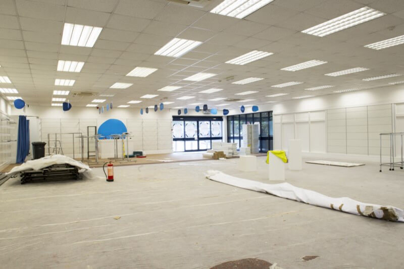 commercial refurbishment london